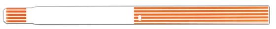 Brazalete termico ScanBand® 7022 con código de barras