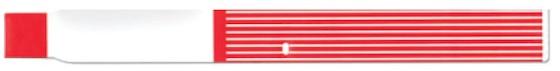 Brazalete térmico ScanBand® 7022 con código de barras
